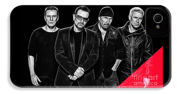 U2 Collection IPhone 4s Case by Marvin Blaine