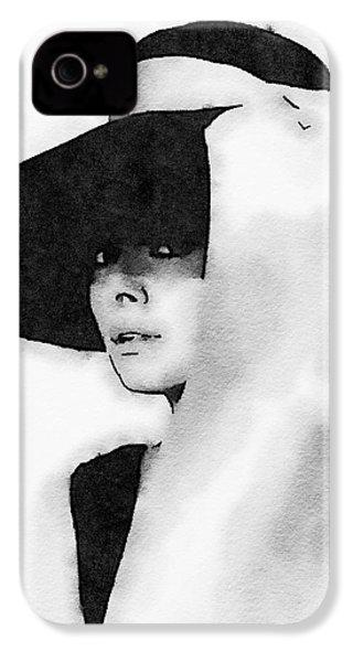 Audrey Hepburn IPhone 4s Case by John Springfield