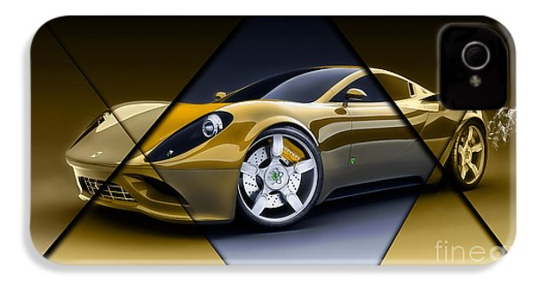 Ferrari Collection IPhone 4s Case by Marvin Blaine