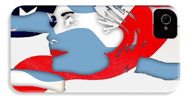 Hillary Clinton 2016 Collection IPhone 4s Case by Marvin Blaine