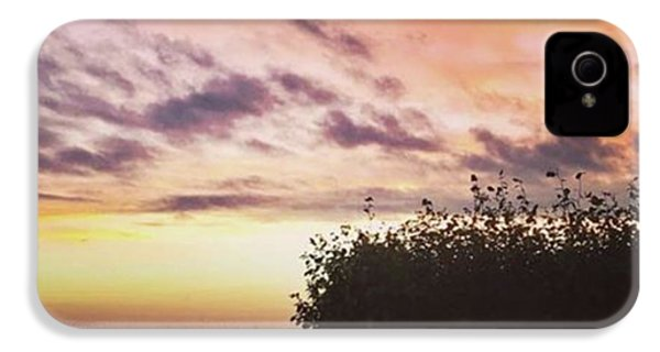 A Beautiful Morning Sky At 06:30 This IPhone 4s Case by John Edwards