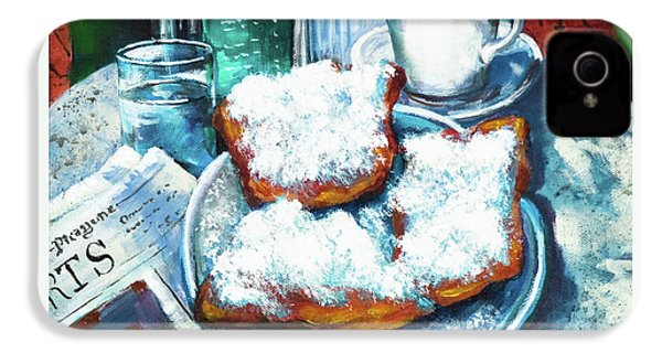 A Beignet Morning IPhone 4s Case