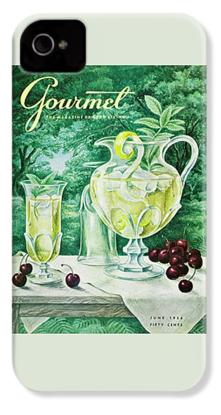 A Gourmet Cover Of Glassware IPhone 4s Case