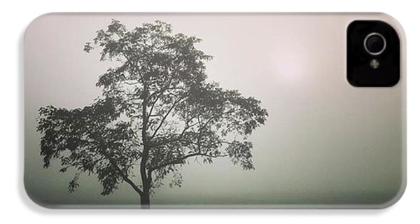 A Walk Through The Clouds #fog #nuneaton IPhone 4s Case by John Edwards