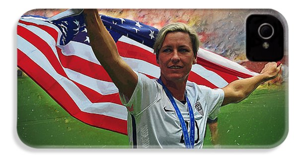 Abby Wambach Us Soccer IPhone 4s Case