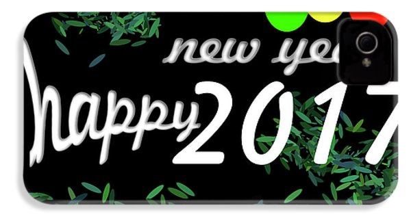 About New Year IPhone 4s Case