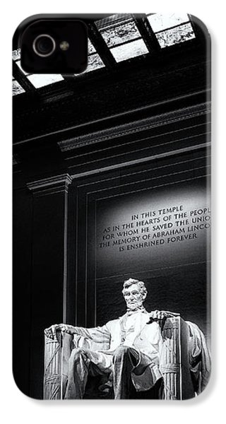 Abraham Lincoln Seated IPhone 4s Case
