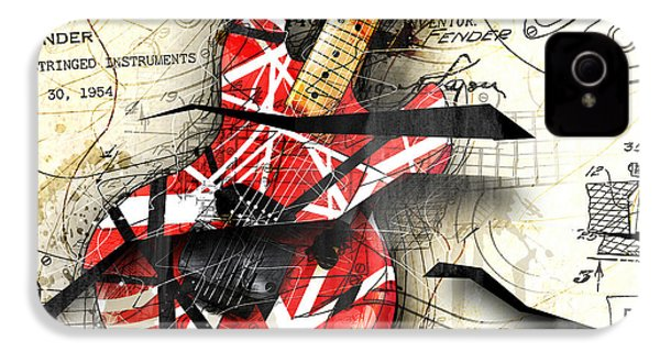 Abstracta 35 Eddie's Guitar IPhone 4s Case