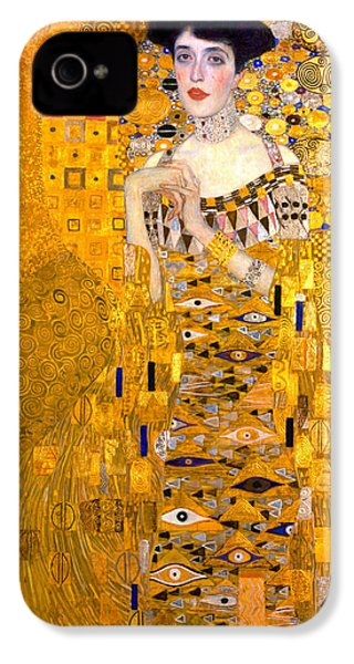 Adele Bloch-bauer Portrait 1907 IPhone 4s Case by Padre Art