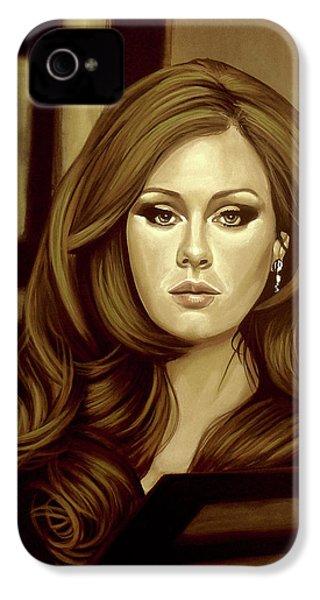 Adele Gold IPhone 4s Case by Paul Meijering