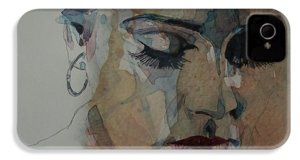 Adele - Make You Feel My Love  IPhone 4s Case by Paul Lovering