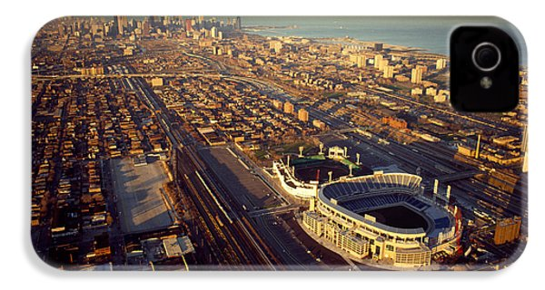 Aerial View Of A City, Old Comiskey IPhone 4s Case by Panoramic Images