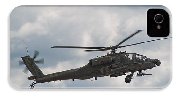 Ah-64 Apache IPhone 4s Case by Sebastian Musial