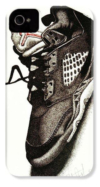 Air Jordan IPhone 4s Case by Robert Morin