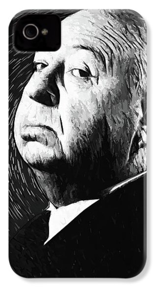 Alfred Hitchcock IPhone 4s Case