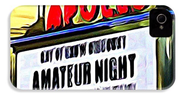 Amateur Night IPhone 4s Case by Ed Weidman