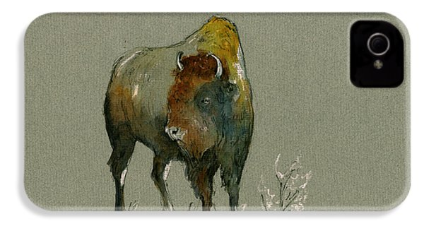 American Buffalo IPhone 4s Case by Juan  Bosco