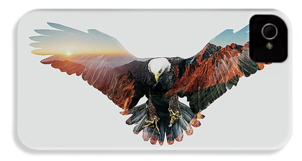 American Eagle IPhone 4s Case by John Beckley