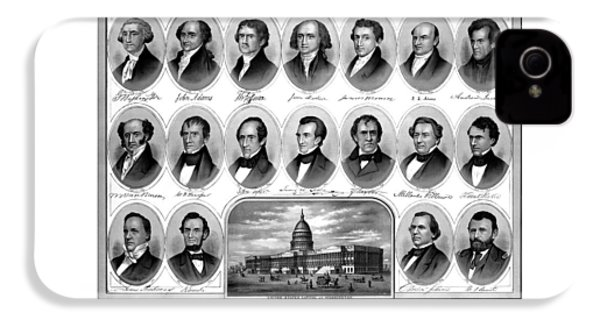 American Presidents First Hundred Years IPhone 4s Case by War Is Hell Store