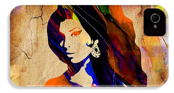 Amy Winehouse IPhone 4s Case by Marvin Blaine