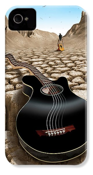 An Acoustic Nightmare 2 IPhone 4s Case by Mike McGlothlen