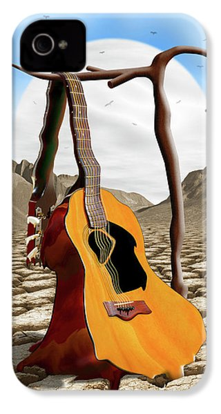 An Acoustic Nightmare IPhone 4s Case by Mike McGlothlen