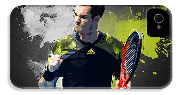Andy Murray IPhone 4s Case by Semih Yurdabak