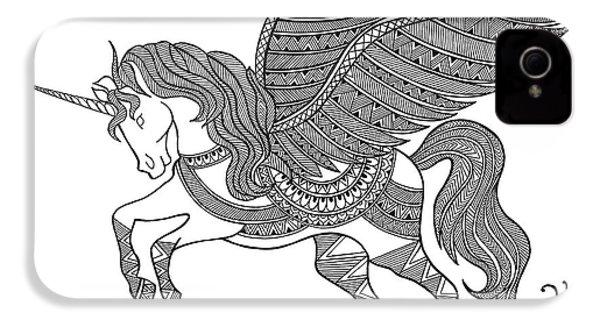 Animal Unicorn IPhone 4s Case by Neeti Goswami