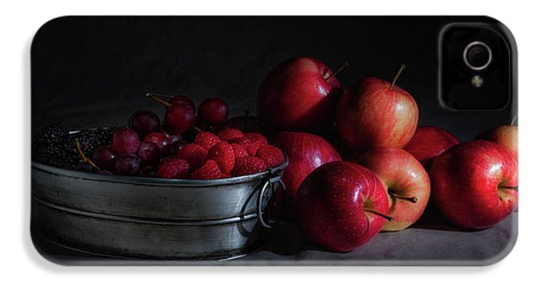 Apples And Berries Panoramic IPhone 4s Case by Tom Mc Nemar