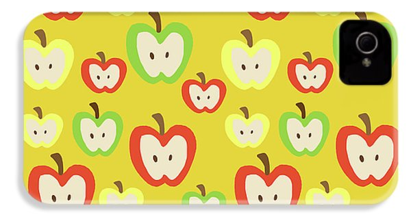 Apples IPhone 4s Case by Nicole Wilson