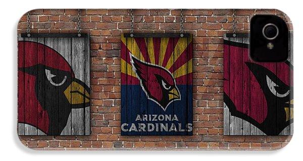 Arizona Cardinals Brick Wall IPhone 4s Case