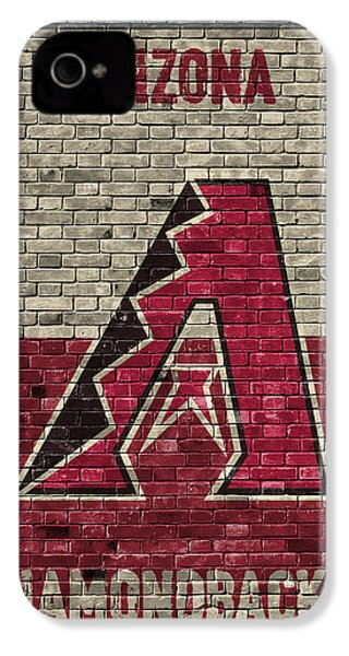 Arizona Diamondbacks Brick Wall IPhone 4s Case by Joe Hamilton