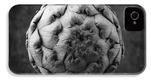 Artichoke Black And White Still Life Two IPhone 4s Case by Edward Fielding