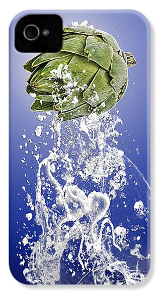 Artichoke Splash IPhone 4s Case