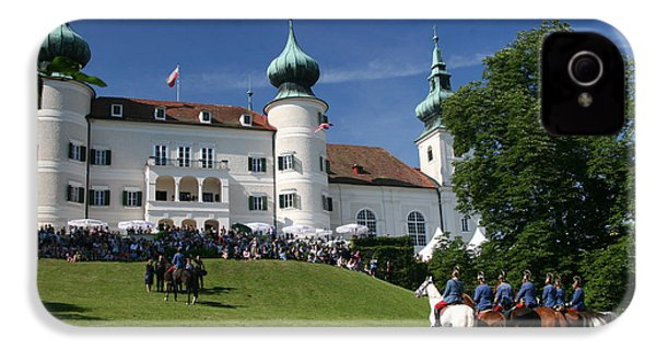 IPhone 4s Case featuring the photograph Artstetten Castle In June by Travel Pics