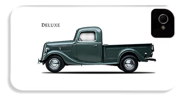 Ford Deluxe Pickup 1937 IPhone 4s Case by Mark Rogan