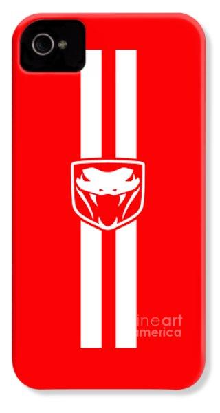 Dodge Viper Red Phone Case IPhone 4s Case