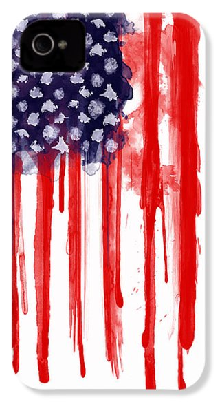 American Spatter Flag IPhone 4s Case