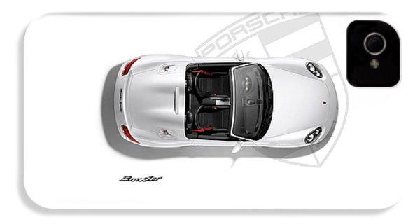 Porsche Boxster IPhone 4s Case by Mark Rogan
