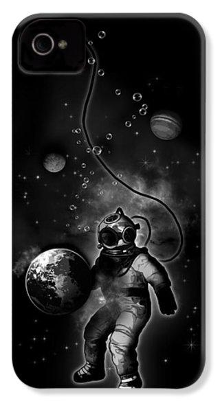 Deep Sea Space Diver IPhone 4s Case by Nicklas Gustafsson