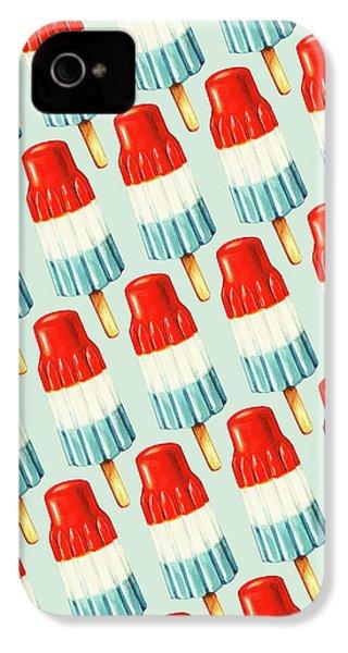 Bomb Pop Pattern IPhone 4s Case by Kelly Gilleran