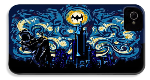Starry Knight IPhone 4s Case by Three Second