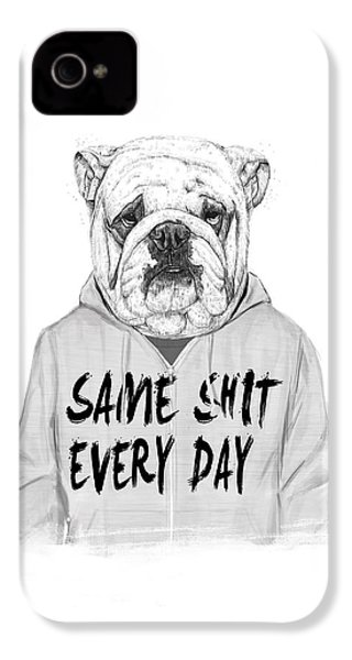 Same Shit... IPhone 4s Case by Balazs Solti