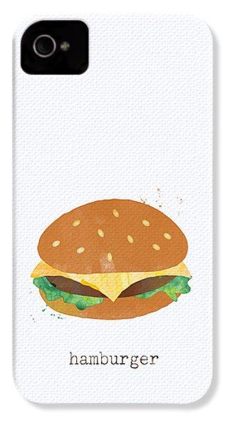 Hamburger IPhone 4s Case