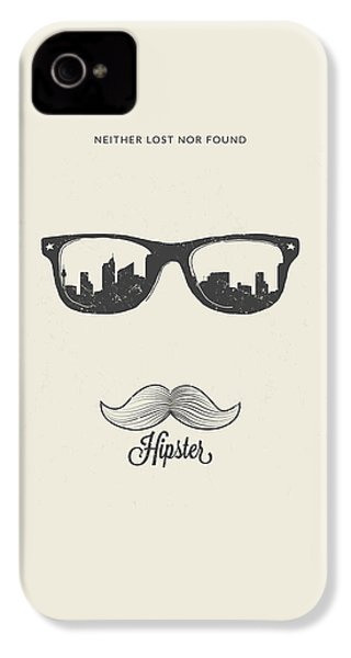 Hipster Neither Lost Nor Found IPhone 4s Case by BONB Creative