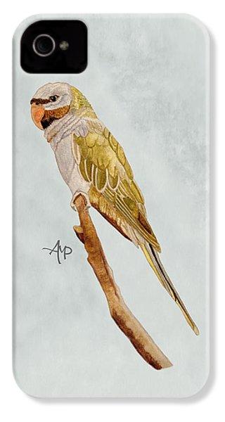 Derbyan Parakeet IPhone 4s Case by Angeles M Pomata