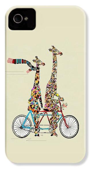 Giraffe Days Lets Tandem IPhone 4s Case by Bri B