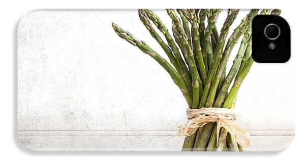 Asparagus Vintage IPhone 4s Case by Jane Rix