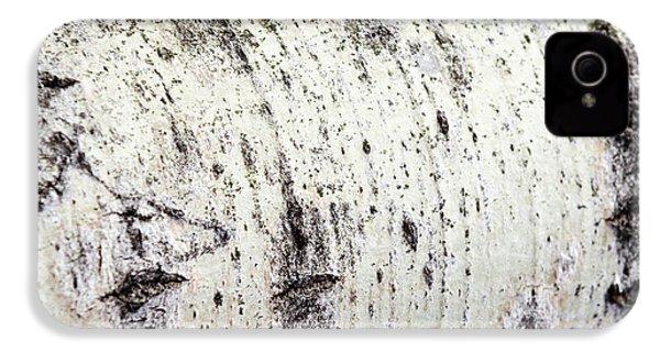 Aspen Tree Bark IPhone 4s Case by Christina Rollo
