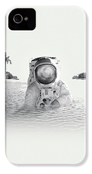 Astronaut IPhone 4s Case by Fran Rodriguez